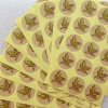Printing Food Sticker Printing Name Labels Sticker