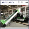 De plastic Extruder van de Machine van de Korrel voor PE van pp Film en Vlokken