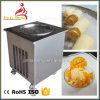 鍋の温度はタイによって転送された揚げられていたアイスクリーム機械を調節した