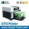 기계를 인쇄하는 면 옷 t-셔츠