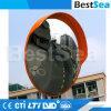 China-Fabrik-flexibler runder konvexer Plastikacrylsauerspiegel