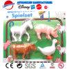 Het onderwijs Stuk speelgoed van het Spel van de Rol met de Reeks van het Dier van het Landbouwbedrijf
