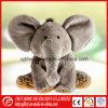 Jouet chaud d'éléphant de peluche de vente avec la grande oreille
