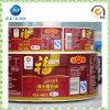 Étiquette adhésive de collant de PVC de cadeau d'étiquette promotionnelle d'impression (jp-s181)