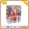 Bolsa de papel del modelo de los ciervos del viejo hombre de la Navidad