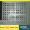 Façades perforées extérieures personnalisées panneau et revêtements de mur rideau d'aluminium