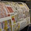 120 '' de ancho (3meters) Textiles de impresión por sublimación de papel