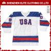 Twill снасти Джерси хоккея на льду Blackhawks выполненный на заказ