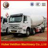 HOWO 12m3 12cbm Kubieke Draagbare Concrete Mixer van Meter 12