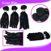 Prolongation mongole de cheveux de courbure de Remy Fumi de nouvelle des cheveux 100% Vierge de la meilleure qualité d'humain