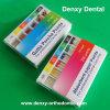 Diversos puntos dentales coloridos de la gutapercha de los tamaños 15#-40#