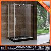 Porta deslizante de vidro Frameless do chuveiro para o quarto de chuveiro
