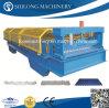 La alta calidad de acero galvanizado Hoja Planta plataforma de rodillo que forma la máquina