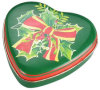 Caja de regalo en forma de corazón del chocolate
