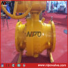 Cast Steel Mounted Flanged Tourillon Ball Valve (Q47F)