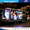 P10 High Resolutin Digital Mobile LED Display / Outdoor Full Color LED Moving Sign