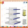 Il doppio del ferro personalizzato vendita ha parteggiato scaffalatura del supermercato della visualizzazione (Zhs509)