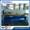 De Staalplaat die van het metaal CNC de Hydraulische Scherende Machine van de Guillotine (QC11Y-12X4000) snijdt