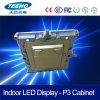 Affichage à LED polychrome d'intérieur de coulage sous pression de l'aluminium P3 SMD