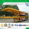 40 piedi di 3axles del contenitore della base di rimorchio semi/rimorchio del camion del rimorchio carico all'ingrosso/pianamente del contenitore della piattaforma semi con la base delle serrature del contenitore/contenitore di carico