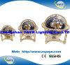 Globos quentes do globo/mundo de Gemstone do carrinho 4-Legged do metal do Sell 150mm/220mm/330mm de Yaye 18