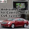 キャデラックXtsの手掛りシステムアップグレードの接触運行WiFiミラーリンクHD 1080Pビデオインターフェイスボックスのためのアンドロイド4.4 GPSの運行ボックス