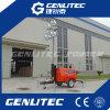 Torretta chiara mobile del cantiere con il generatore diesel di 6kw Kubota (GLT4000-9M)
