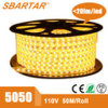 110V 220V High Voltage LED Rope Light IP65 Outdoor Lighting 5050 60LED/M