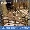Fabrication en usine Design spécial Acier inoxydable Escalier Balustrade Main courante