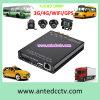 en la solución de la vigilancia del coche con 1080P DVR móvil y cámara H. 264 WiFi GPS 3G 4G