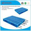 Produtos de armazém palete 1200*1000*150mm Grid duas faces Bandeja de plástico para serviço pesado 1.5T prateleira com 8 racks de aço (ZG-1210 8 steels)