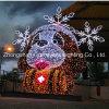 Luz de Natal iluminada LED para decoração ao ar livre