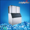 Libra 2000 Plaza de acero inoxidable Hielo Ice Cube Maker