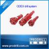 Sistema Odex90 fijado para la cubierta 114 y el martillo DHD3.5