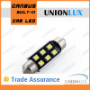 Diodo emissor de luz Auto Festoon Light Trunk Light de C5w 39mm para Car