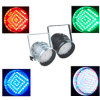 177 lumière du PAIR 64 LED de F10 RVB LED