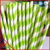 Pailles en bambou vertes de Laua de pailles de pailles d'usager de DIY