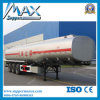 オイルかFuel Tanker Carring Semi Trailer Tank