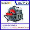 Separador magnético seco para minérios, maquinaria de mineral da operação da purificação