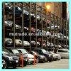 Подъем стоянкы автомобилей штабелеукладчика столба системы 4 стоянкы автомобилей гаража автомобиля