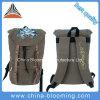 La corsa di Daypack della tela di canapa mette in mostra lo zaino dello Zaino del sacchetto di Drawstring