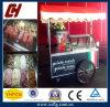 Carro do gelado do carro de Gelato de 8 bandejas/do Popsicle