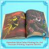 Libro Softcover di prezzi poco costosi dello scomparto di colore completo di stampa dell'opuscolo