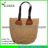 Luda 2015 sacchetti della paglia del Crochet di modo