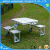 Leichtes Koffer-Art-Aluminium-faltender kampierender Tisch für 4 Persom
