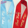 Wholesale Custom Printed Gold Silver Ribbon
