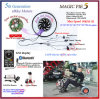 ¡Bluetooth programable! Motor eléctrico del motor 48V 750W /Bicycle del eje de la bici