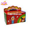 新しい子供の木の収納キャビネット、普及した子供の木の収納キャビネットのおもちゃ、熱い販売の多機能の木のおもちゃ箱W08c009