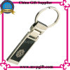 Keyring modificado para requisitos particulares del espacio en blanco del metal con insignia cambiable