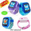 Geschenke imprägniern Kinder GPS-Verfolger-Uhr mit PAS-Aufruf D27